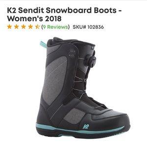 K2 Sendit Snowboard Boots - Women's 2018